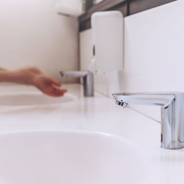 Bathroom tap - Water Saving Devices