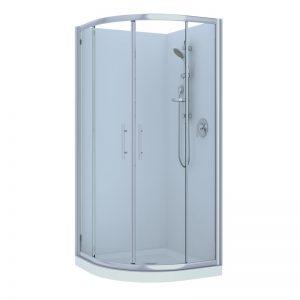 Raymor Brighton Curved Shower Range