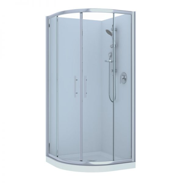Raymor Brighton Curved Shower Range