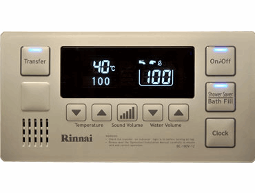 Rheem Deluxe Temperature Controller Bathroom 1 Clyne